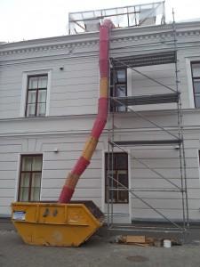 Statybinių latakų nuoma Kaune