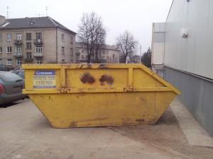 Statybinių atliekų konteinerių nuoma